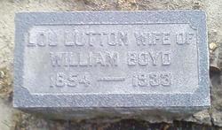 Lucinda Ellen Lou <i>Lutton</i> Boyd
