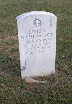 Effie L Washington
