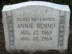 Annie <i>Blum</i> Benno