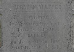 Abraham Garrison Allfree