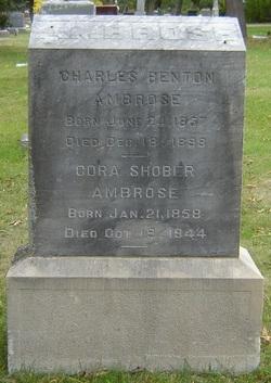 Cora Mary <i>Shober</i> Ambrose