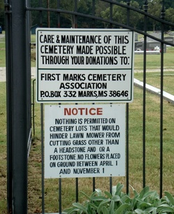 Marks Cemetery