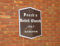 Peach's United Church Cemetery