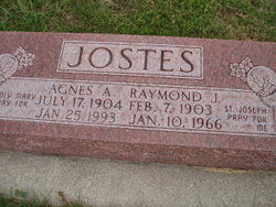 Agnes A. <i>Heeg</i> Jostes