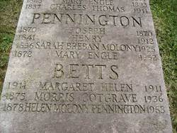 Mary <i>Engle</i> Pennington