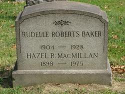 Rudelle <i>Roberts</i> Baker