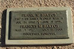 Frances Mary Fran <i>Billow</i> Bartos