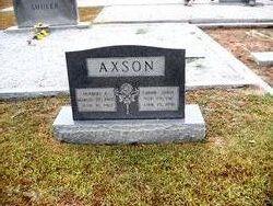 Carrie Adell <i>Dantzler</i> Axson
