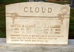 Martha B. Mattie <i>Bell</i> Cloud