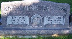 Reva <i>Baird</i> Bennion
