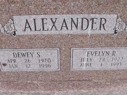 Evelyn R Alexander