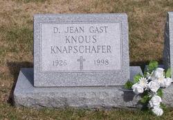D Jean <i>Gast</i> Knapschafer