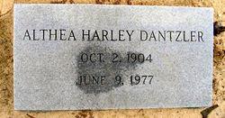 Althea <i>Harley</i> Dantzler