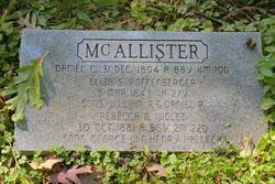 William P McAllister