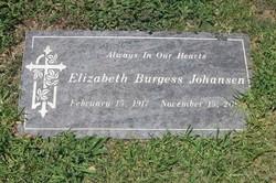 Elizabeth <i>Burgess</i> Johansen