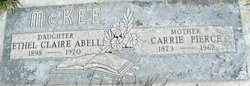 Ethel Claire <i>McKee</i> Abell