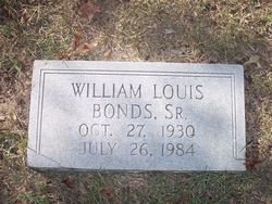 William Louis Bonds, Sr