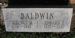 Edward E Baldwin