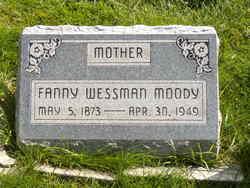 Fanny Constance <i>Wessman</i> Moody
