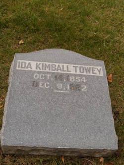 Ida Marie <i>Kimball</i> Towey