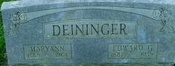 Edward G. Deininger