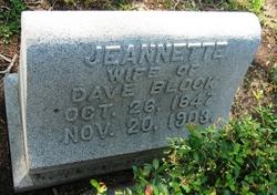 Jeannette <i>Kahn</i> Block