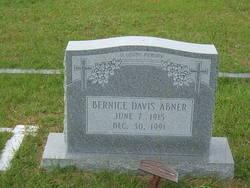 Bernice <i>Davis</i> Abner