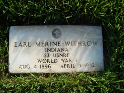 Earl Merine Withrow