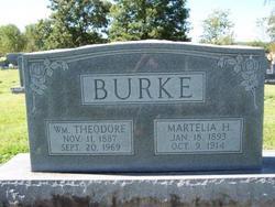 Zettie Martelia Tealie <i>Harrington</i> Burke