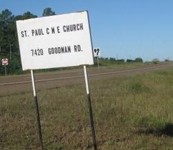 Saint Paul CME Church Cemetery