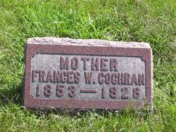 Frances W <i>Cook</i> Cochran