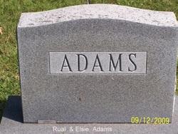 Rual Edward Adams