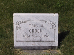 Mary <i>Winterbottom</i> Crook