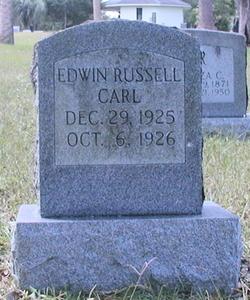 Edwin Russell Carl