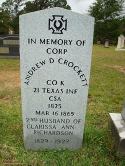 Corp Andrew David Crockett