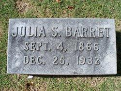 Julia S. <i>Cooper</i> Barret