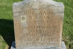 Minerva Emma <i>Wade</i> Hickman