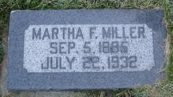 Martha Jane <i>Fowers</i> Miller