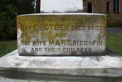 Rev Ebenezer Boyden