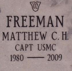 Capt Matthew C. Hays Freeman