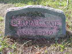 Bertha C. <i>Bishop</i> Cate