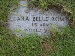 Clara Belle Romine