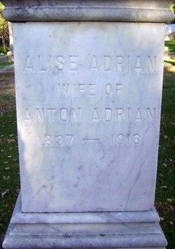 Alise Eliza or Alice <i>Pfeiffer</i> Adrian