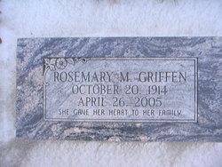 Rosemary M <i>Turner</i> Griffen
