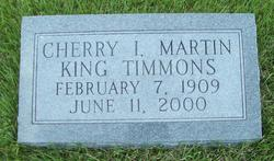 Cherry I. <i>Martin</i> Timmons
