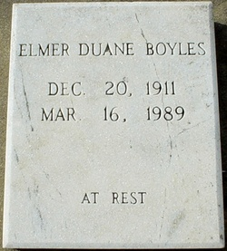 Elmer Duane Boyles