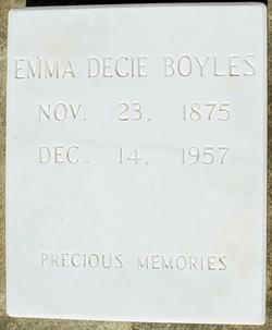 Emma Decie <i>Smith</i> Boyles