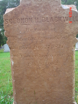 Solomon Holcombe Blackwell