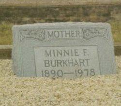 Minnie F <i>Sheppard</i> Burkhart