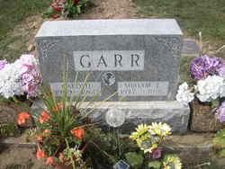 Miriam E <i>Windle</i> Garr